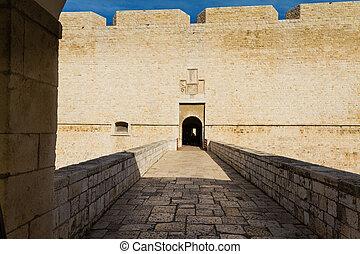 Castle entrace