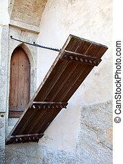 Castle entrance gate (Lenzburg, Switzerland)