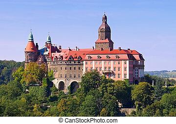 castle Fuerstenstein in Silesia