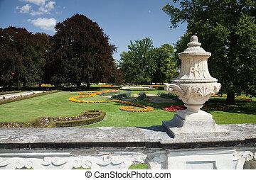 Castle Garden, Cesky Krumlov, Czech Republic - Castle Garden...