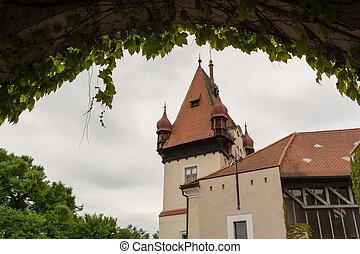 Castle Hagenberg in Austria