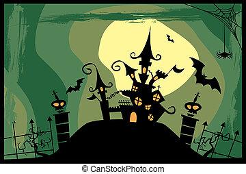 Castle - Halloween image