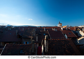 Castle Hill Rooftops