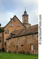Castle in Budingen, Germany