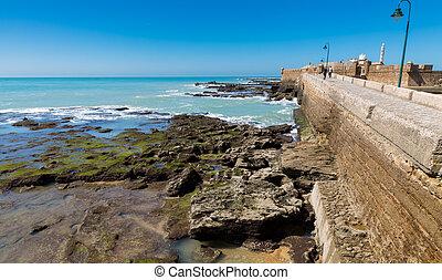 Castle in Cadiz