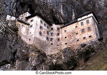 Castle in cliff