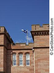 Castle in Inverness, Scotland