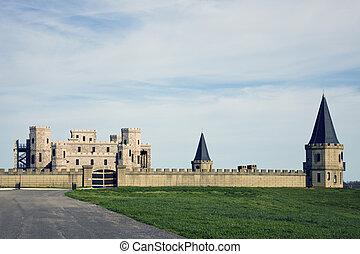 Castle in Kentucky - Castle near Lexington, Kentucky, USA.