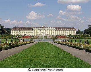 Castle in Ludwigsburg, Germany