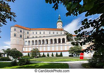 Castle in Mikulov, Czech Republic.