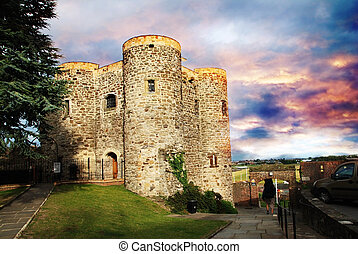 Castle in Rye - Ypres Tower belongs to the oldest buildings...