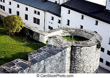 Castle in Salzburg, Austria