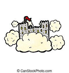 castle in sky cartoon