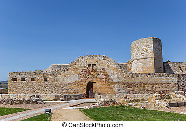 Castle in the historic center of Zamora