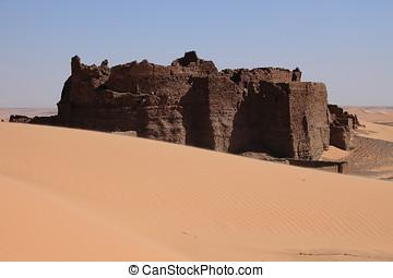 Castle in the Sahara