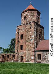 Castle in Toszek, Poland Upper Silesia