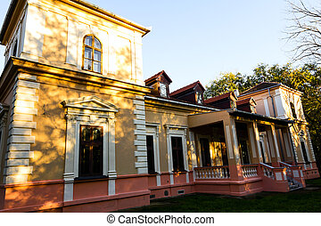 """Castle """"Jagodi?"""" in Konak, Vojvodinia."""