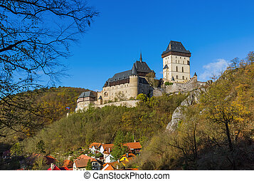 Castle Karlstejn in Czech Republic - travel and architecture...