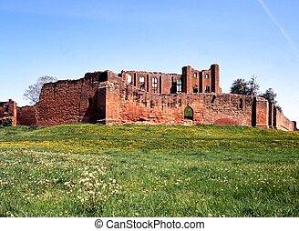 Castle, Kenilworth, England.