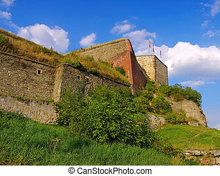 castle Klodzko (Glatz) in Silesia, Poland