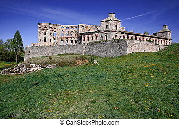 Castle Krzyztopor - Ruin of Polish Mannerist castle...