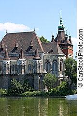 castle landmark Budapest Hungary