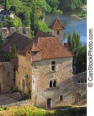 Castle, Lapopie,