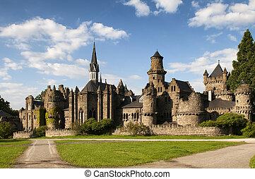 Castle Loewenburg - Fairy medieval castle Loewenburg, also...