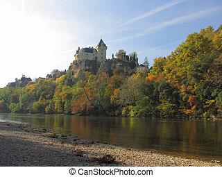 Castle, Montfort , fortification, rampart,