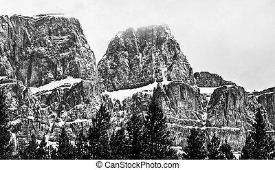 Castle Mountain Rock Formations, banff National Park