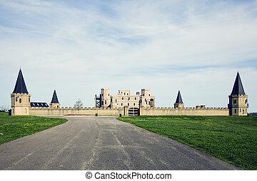 Castle near Lexington, Kentucky, USA.