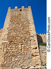 Castle of Capdepera. Majorca. Balearic Islands. Spain.