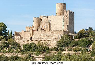 Castle of Castellet near Barcelona, Spain - Castellet i la...