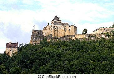 Castle of Castelnaud, France