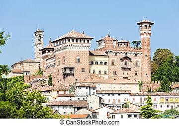 Castle of Cereseto, Piedmont, Italy
