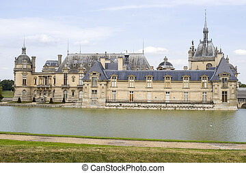 Castle of Chantilly - Chantilly (Oise, Picardie, France) -...