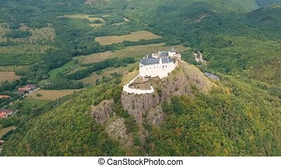 Castle of Fuzer in Hungary, Europe