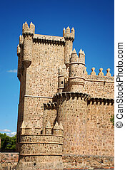 Castle of Guadamur in Toledo Spain