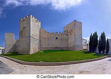 Castle of Loule, Faro district, Algarve, Portugal
