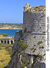Castle of Methoni at Greece