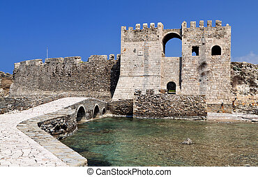 Castle of Methoni in Greece