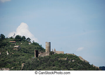 Castle of Monte Ursino - The Castle of Noli, Liguria - Italy