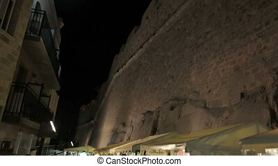 Castle of Peniscola - Spain, city of Peniscola, in August...