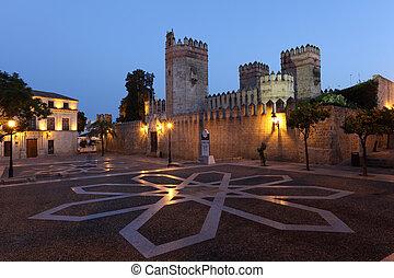 Castle of San Marcos in El Puerto de Santa Maria, Andalusia...