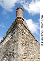 castle of san marcos turret
