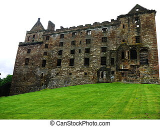 Castle of Scotland - Castle on the north west coast of...
