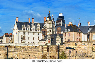 Castle of the Dukes of Brittany in Nantes, France - Castle ...