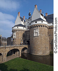 Castle of the Dukes of Brittany, Nantes, France. - Urban ...