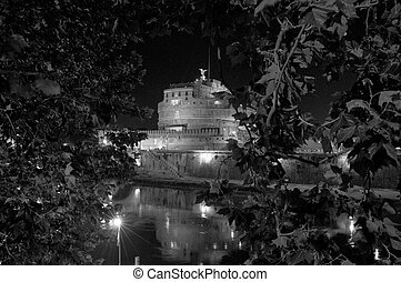 Castle of the Holy Angel by nigth
