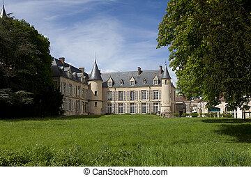 Castle of Themericourt, Val d'oise, Ile de France, France